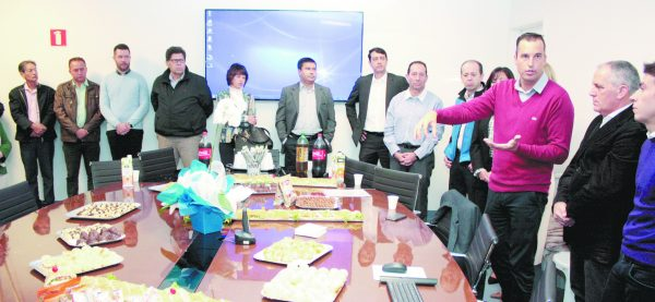 O prefeito Lauro Michels falou com cerca de trinta empresários de Diadema sobre ações para combater a crise na cidade