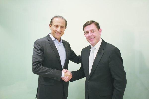 Presidente do FIESP/CIESP, Paulo Skaf com Orlando Morando