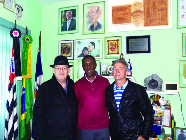 Comendador Pedroso de Moraes, Cabo Cosme e Luiz Gonçalves (secretário geral do PSC)
