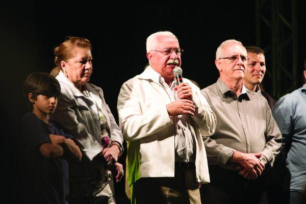 O prefeito Doutor Paulo Pinheiro falou sobre a importância da Festa da Cultura Nordestina para São Caetano do Sul