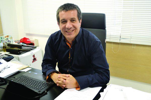 O vereador Marcel Munhoz