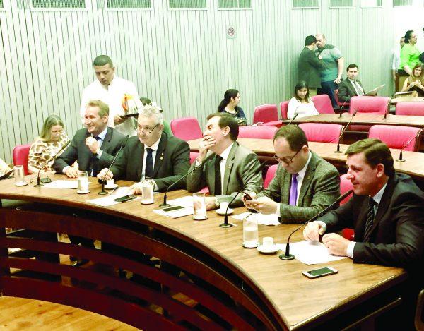 O recém eleito prefeito de São Bernardo, deputado Orlando Morando segue trabalhando na ALESP