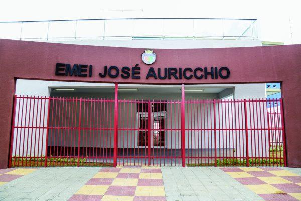 EMEI José Auricchio, localizada na Rua Santa Rosa, 79, no Centro, será inaugurada hoje