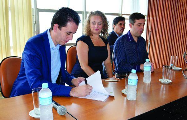 Paulo Serra participou do lançamento do Projeto de Gestão