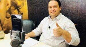 Vereador Daniel apoia os trabalhadores por live