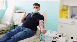 Nesta semana, Parra deixou a sua colaboração ao Banco de Sangue da cidade